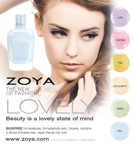 Zoya Lovely Nail Polish Collection Spring 2013 | Women Fashion Accessories | Scoop.it