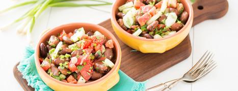 Fava Bean Salad - Plant-Based Vegan Recipe | Vegan Food | Scoop.it