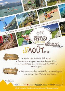 27 & 28 août : premier Summer Debrief à Châtel | Ecobiz tourisme - club euro alpin | Scoop.it