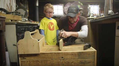 """Vance Maker"" and the Joys of Making with Kids 