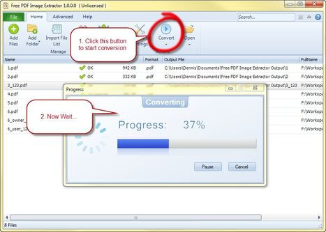 Deux programmes Windows pour extraire les images des fichiers Pdf | Time to Learn | Scoop.it