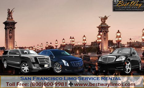 San Francisco Limo Service Rental | Bay Area Limousine Services | Scoop.it