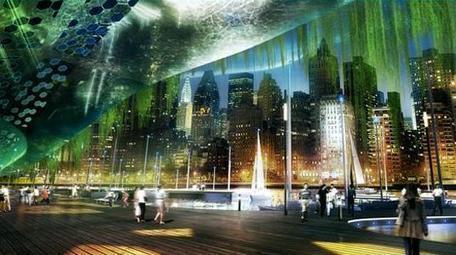 Dragonfly - projeto conceito de fazenda vertical em NY - SustentArqui | arkhitekton | Scoop.it