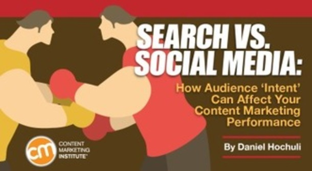 Search vs. Social Media: How Audience 'Intent' Can Affect Content Marketing Performance | Small Business On The Web | Scoop.it