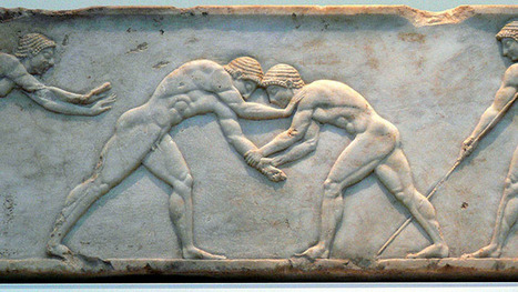 Ancient wrestlers caught match-fixing by scientists | Ancient Art History Summary | Scoop.it