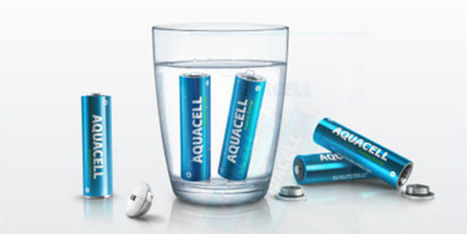 Aquacell, la pile écolo et rechargeable à l'eau | Environmental news | Scoop.it