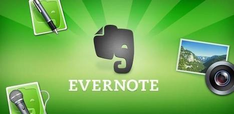 Evernote, tu mejor aliado en la red. | Las TIC hoy | Scoop.it