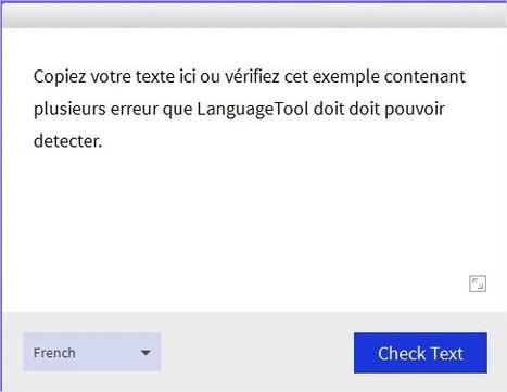 Language Tool. Correcteur Open source en ligne | TICE, Web 2.0, logiciels libres | Scoop.it