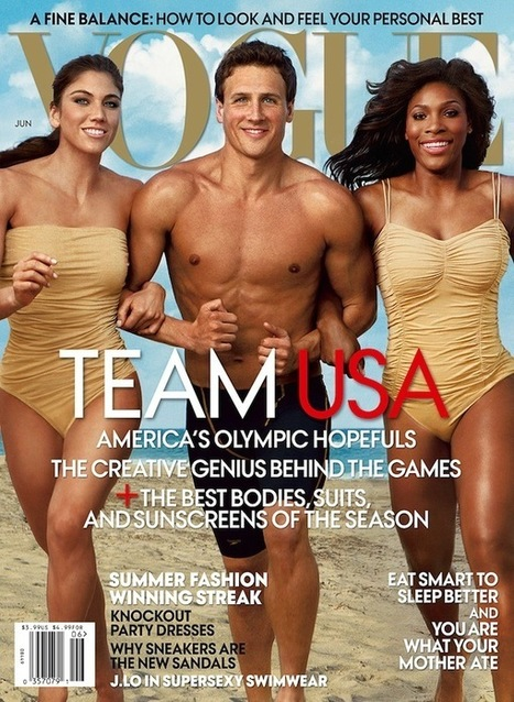 Behind the Scenes of Annie Leibovitz's Olympic Photoshoot for Vogue | All Things Photography | Scoop.it