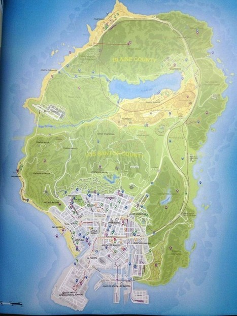 GTA V Gameplay Videos, Pictures, Map Leaked – Shows Airplane Crashes, Super Cars, Random Missions and More | Info-Pc | Games | Scoop.it