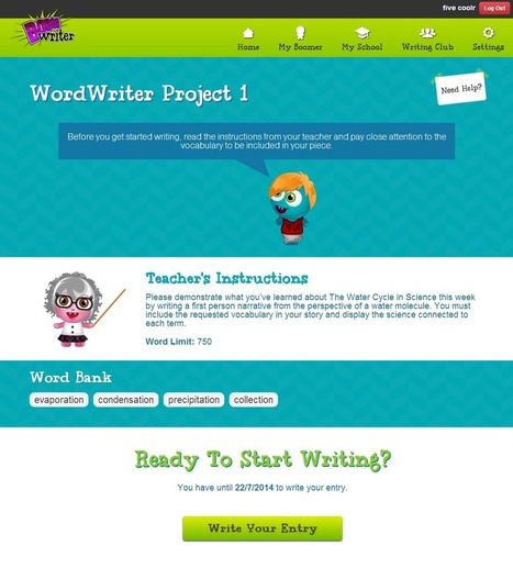 Boom Writer - Word Writer | Digital storytelling and creative writing ELT | Scoop.it