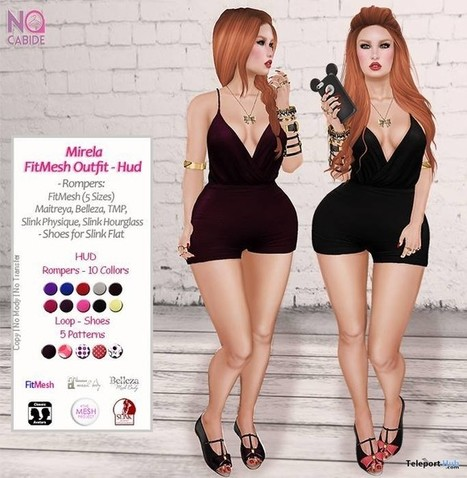 Mireli Outfit Limited Time Group Gift by No Cabide | Teleport Hub - Second Life Freebies | Second Life Freebies | Scoop.it
