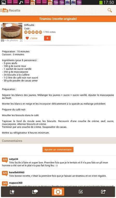 Marmiton : L'appli pour cuisiner | cuisine_du_futur | Scoop.it