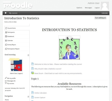 User Information Block gets an update for Moodle 2.4 | mOOdle_ation[s] | Scoop.it