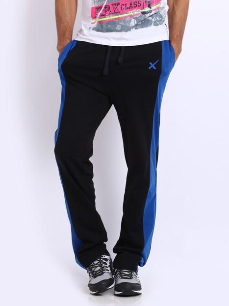 HRX Men Black Easy Active Track Pants |Big Bazaar Delhi | bigbazaardelhi.in | Scoop.it