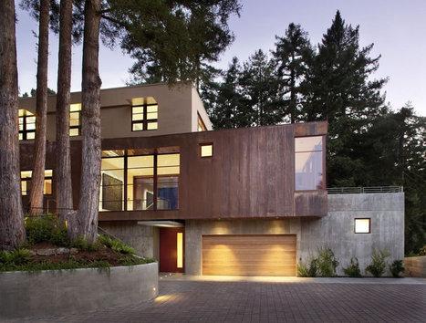 Beautiful Houses: Mill Valley Residence | Abduzeedo Design Inspiration & Tutorials | amazing stuff | Scoop.it