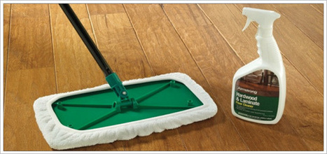 Hardwood Floor Cleaning and Maintenance from Bruce | Cleaning Hardwood Floors | Scoop.it