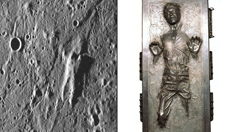 NASA Probe Found Han Solo on Mercury's Surface | All Geeks | Scoop.it