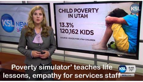 Role Play in Small Groups: Poverty simulator' teaches life lessons, empathy for services staff   | Teaching Empathy | Scoop.it