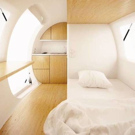 This Ecocapsule Tiny Home Lets You Live Off-Grid Anywhere In The World! | Design | Scoop.it