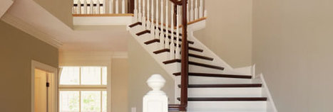 Stair and Riser Painting | Painting Company Calgary | Painting Services in Calgary | Scoop.it