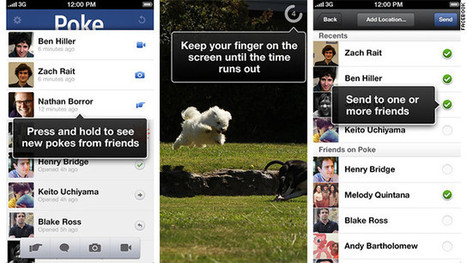 Facebook has released a new, free app for iOS called Facebook Poke - CNN | Anything you want-as long as youre a friend | Scoop.it