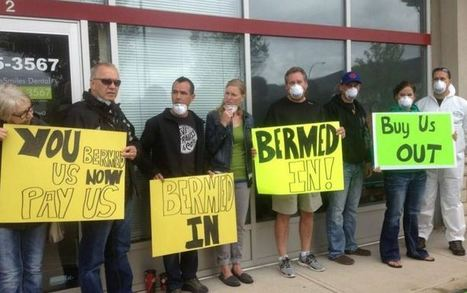 High River flood victims hold protest outside Premier's Calgary office   ABPoli   Scoop.it
