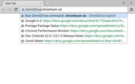 OmniDrive : Add support to the omnibox to search in Google Drive | Time to Learn | Scoop.it