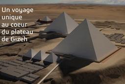 Les pyramides de Khéops et de Mykérinos à portée de clic - ITRgames.com   Innovations en bib municipale   Scoop.it