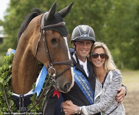 The one-eyed wonder horse jumps to glory: Showjumper Addy triumphs at the Hickstead Derby despite being blind on his right side | Animals and Other Stories | Scoop.it