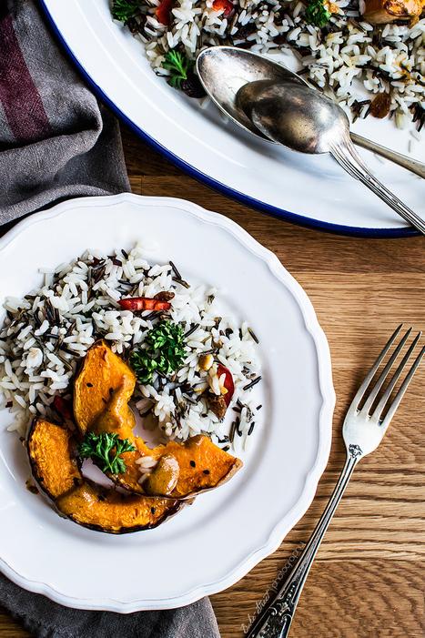 Arroz salvaje con calabaza y tahini de mandarina | Passion for Cooking | Scoop.it