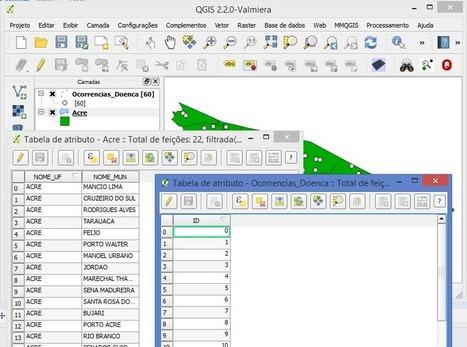 QGIS: Como Unir Tabelas pela Localização Espacial | Anderson Medeiros | Materiais didáticos: QGIS | Scoop.it