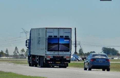 Samsung's transparent Safety Truck hits the road en route to global rollout   CLOVER ENTERPRISES ''THE ENTERTAINMENT OF CHOICE''   Scoop.it