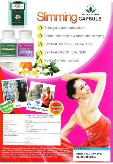 Agen Slimming Capsule | Kapsul Pelangsing Alami | Herbal Medicine | Scoop.it