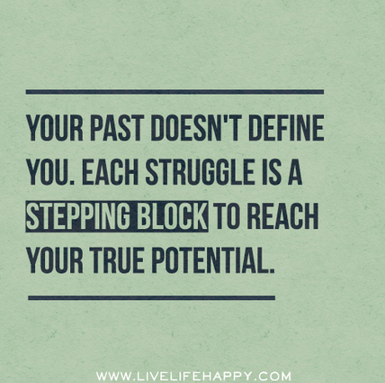 Your Past Doesn't Define You | Praying | Scoop.it