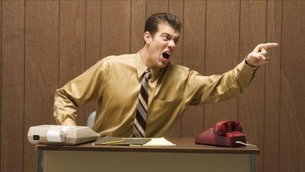 How to Cope When Boss Is a Screamer | Business Brainpower with the Human Touch | Scoop.it