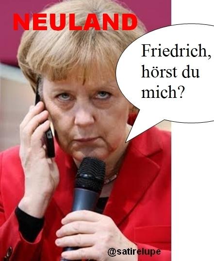 Kritik an Merkel - #Neuland-Aufschrei im Spießer-Netz   Allmächt!   Scoop.it