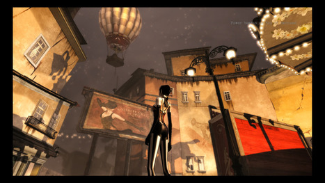 Shadow Puppeteers: Designing the World of Contrast - GameSpot | Game Narrative | Scoop.it
