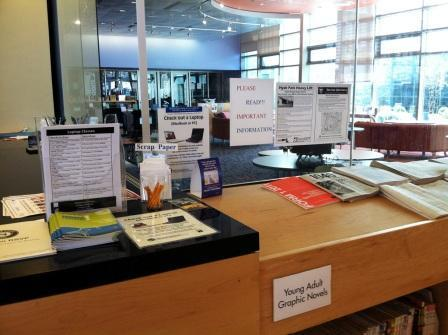 Reining In the Clutter of Library Signage | Backtalk | LibraryLinks LiensBiblio | Scoop.it