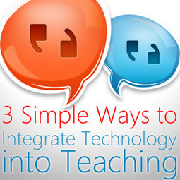 3 Simple Ways to Integrate Technology into Teaching: Beyond Utilisation | Educational Technology, E-Learning & Pedagogy | Scoop.it
