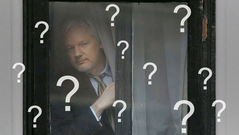 The Internet's Best Conspiracy Theories About Julian Assange's Meltdown | News we like | Scoop.it