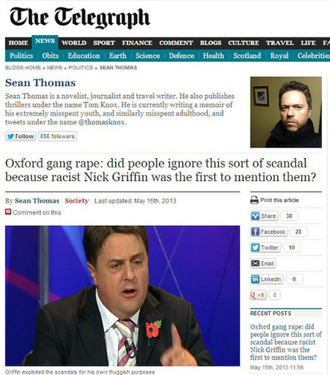 Telegraph Blogger comes a cropper | The Indigenous Uprising of the British Isles | Scoop.it