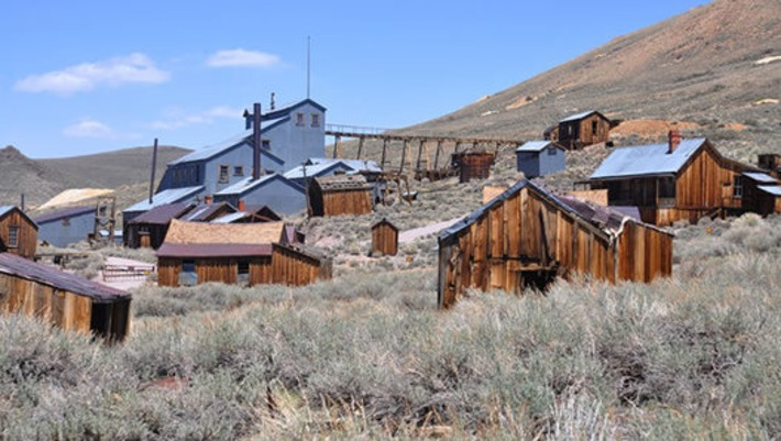 6 Famous Ghost Towns and Abandoned Cities — HISTORY Lists | Visiting The Past | Scoop.it