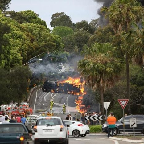 Charges laid against driver in fiery tanker crash | OHS Quest 1 | Scoop.it