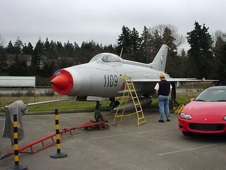 Mikoyan-Gurevich MiG-21-F – WalkAround | History Around the Net | Scoop.it