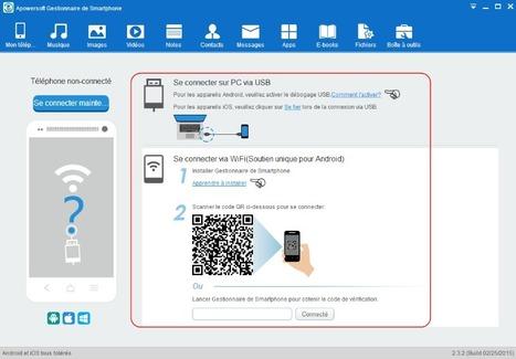 Tutoriel - Gestionnaire de Smartphone | Time to Learn | Scoop.it