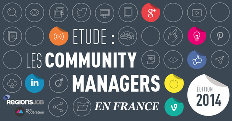 Enquête sur les community managers en France – Édition 2014 | Le community manager en herbe | Scoop.it