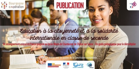 "Guide ""Éducation à la citoyenneté et à la solidarité internationale en classe de seconde"" [Publication] 