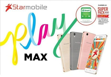 Starmobile Play Max and Play Plus affordable Marshmallow smartphones announced | NoypiGeeks | Philippines' Technology News, Reviews, and How to's | Gadget Reviews | Scoop.it