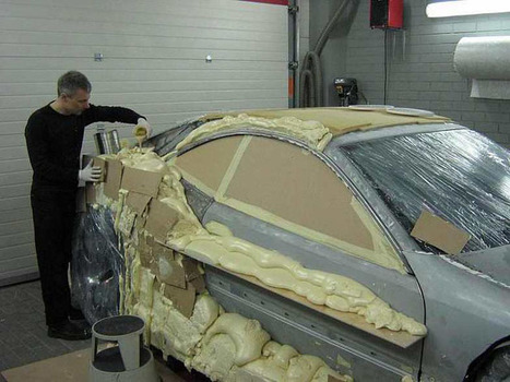 Man Transforms A Pile Of Junk Into A Luxury Sports Car. This Is Crazy. | ViceDaily | Scoop.it